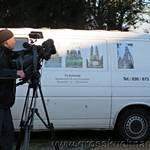 Presse und TV verfolgten das Geschehen