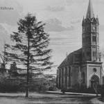 Kirche Großkühnau auf historischer Postkarte.jpg