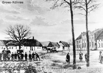Friedrichsplatz mit Friedenseiche, vmtl. um etwa 1910/1920.